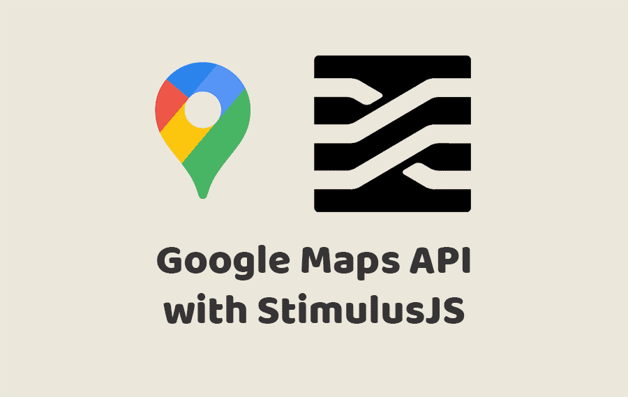 Google Maps API with StimulusJS