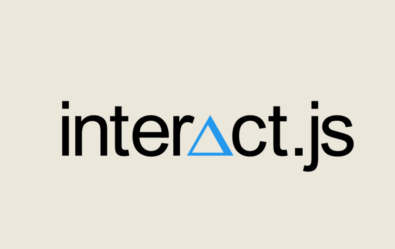 Drag and Drop with Interact.js