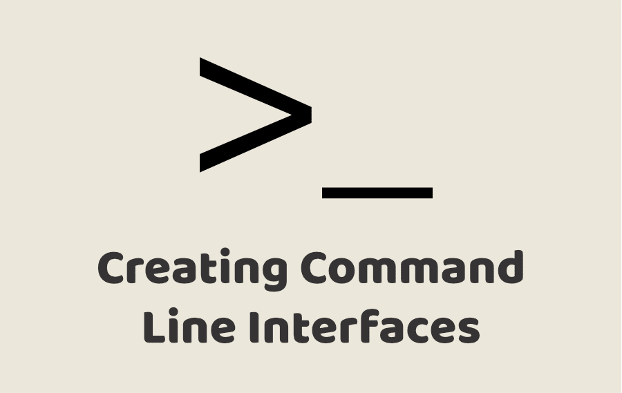 Creating Command Line Applications