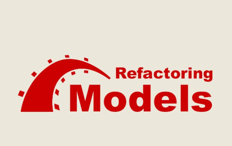 Refactoring Models