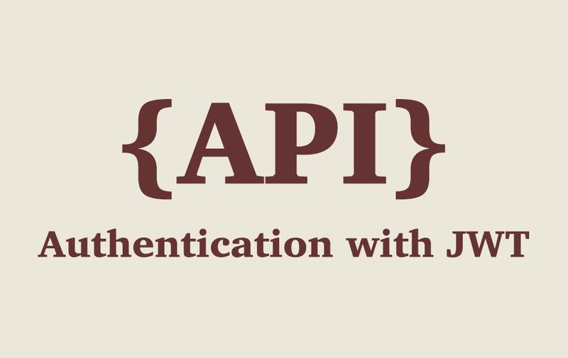 Rails API - Authentication with JWT
