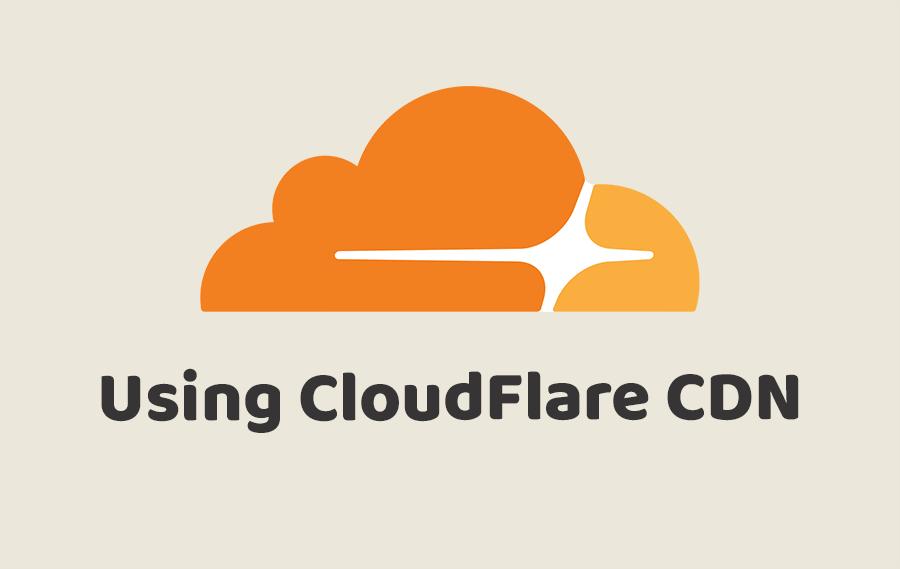 Using CloudFlare CDN