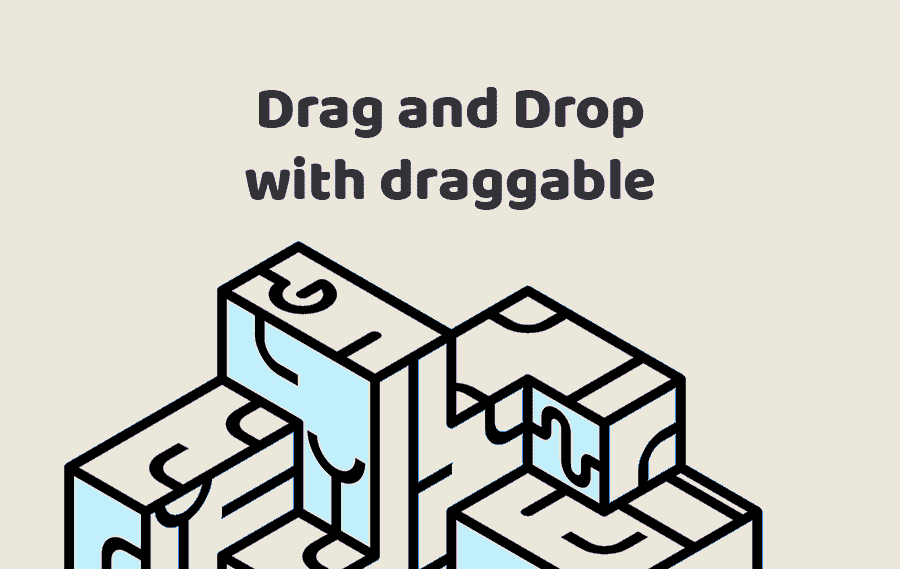 Drag and Drop with draggable