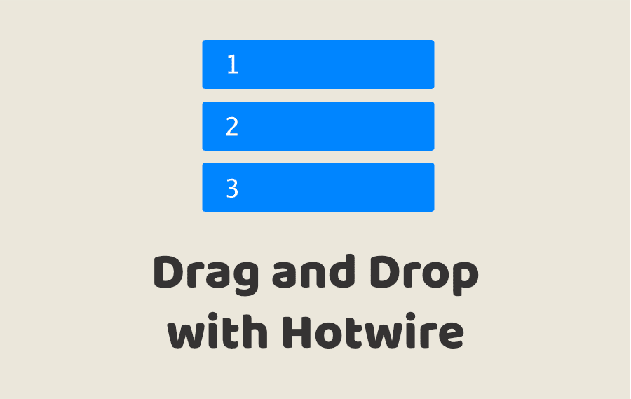 Drag and Drop with Hotwire