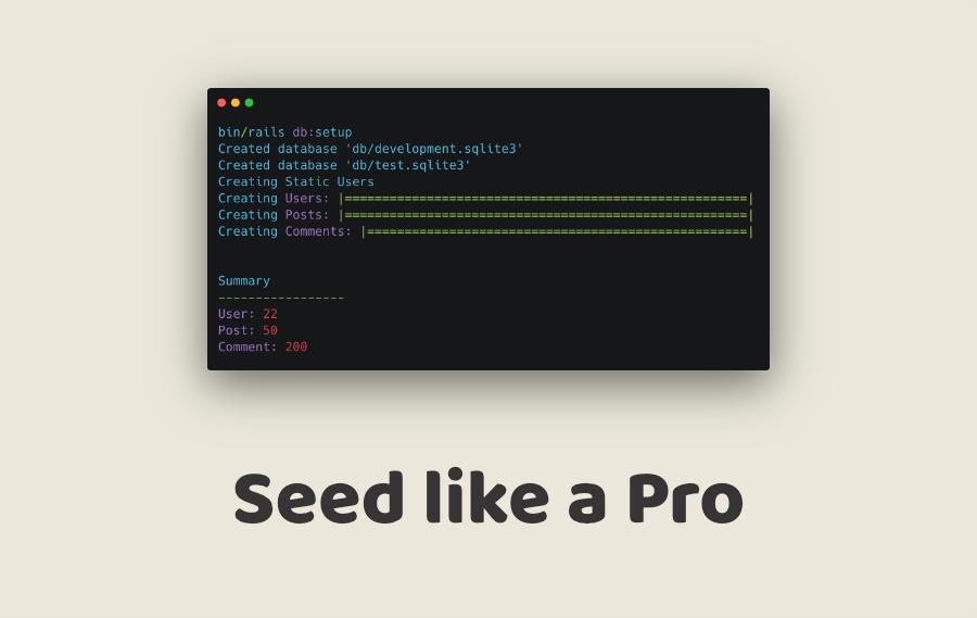 Seed like a Pro