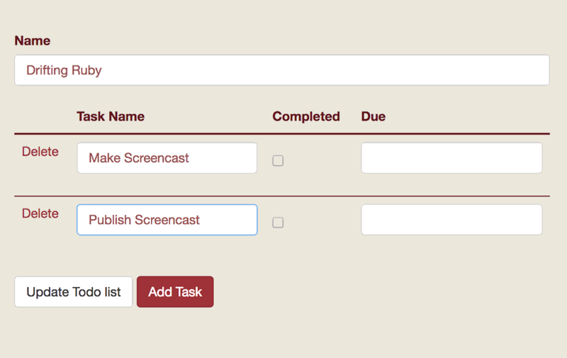 Nested Forms from Scratch
