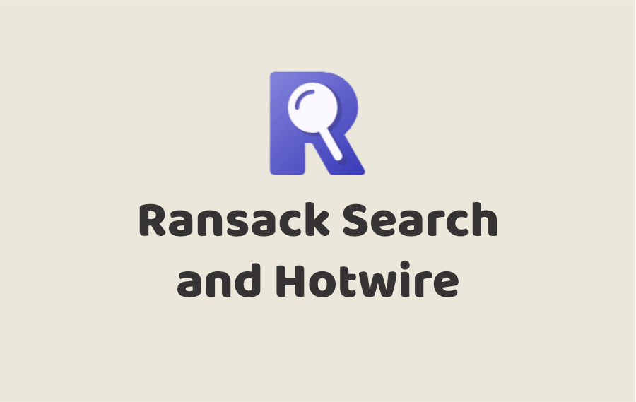 Ransack Search and Hotwire