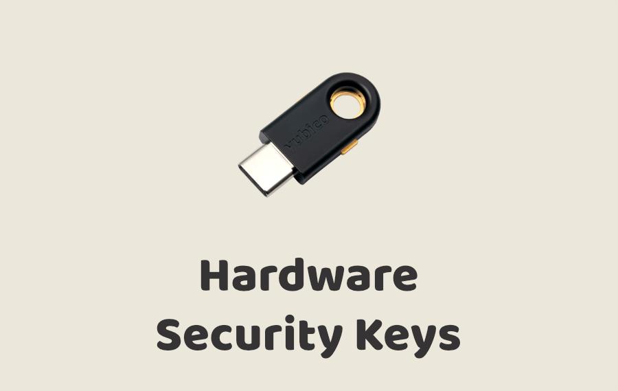 Hardware Security Keys
