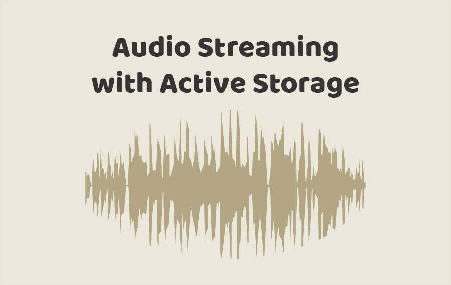 Audio Streaming with Active Storage